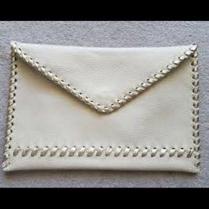 LAGGO Envelope Leather Clutch